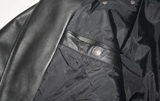 Harley Davidson XXL Black Leather Jacket Made in USA