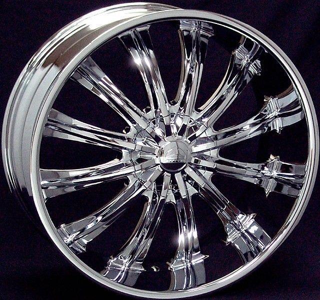 28 inch B15 chrome wheels rims Escalade Avalanche Tahoe