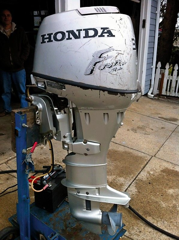 Honda 30 HP Outboard Boat Motor Engine 4 Stroke Electric
