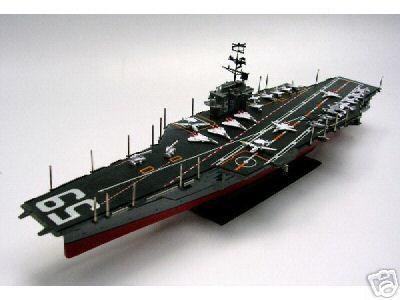 USS Forrestal CVA 59 Aircraft Carrier Plastic Model New